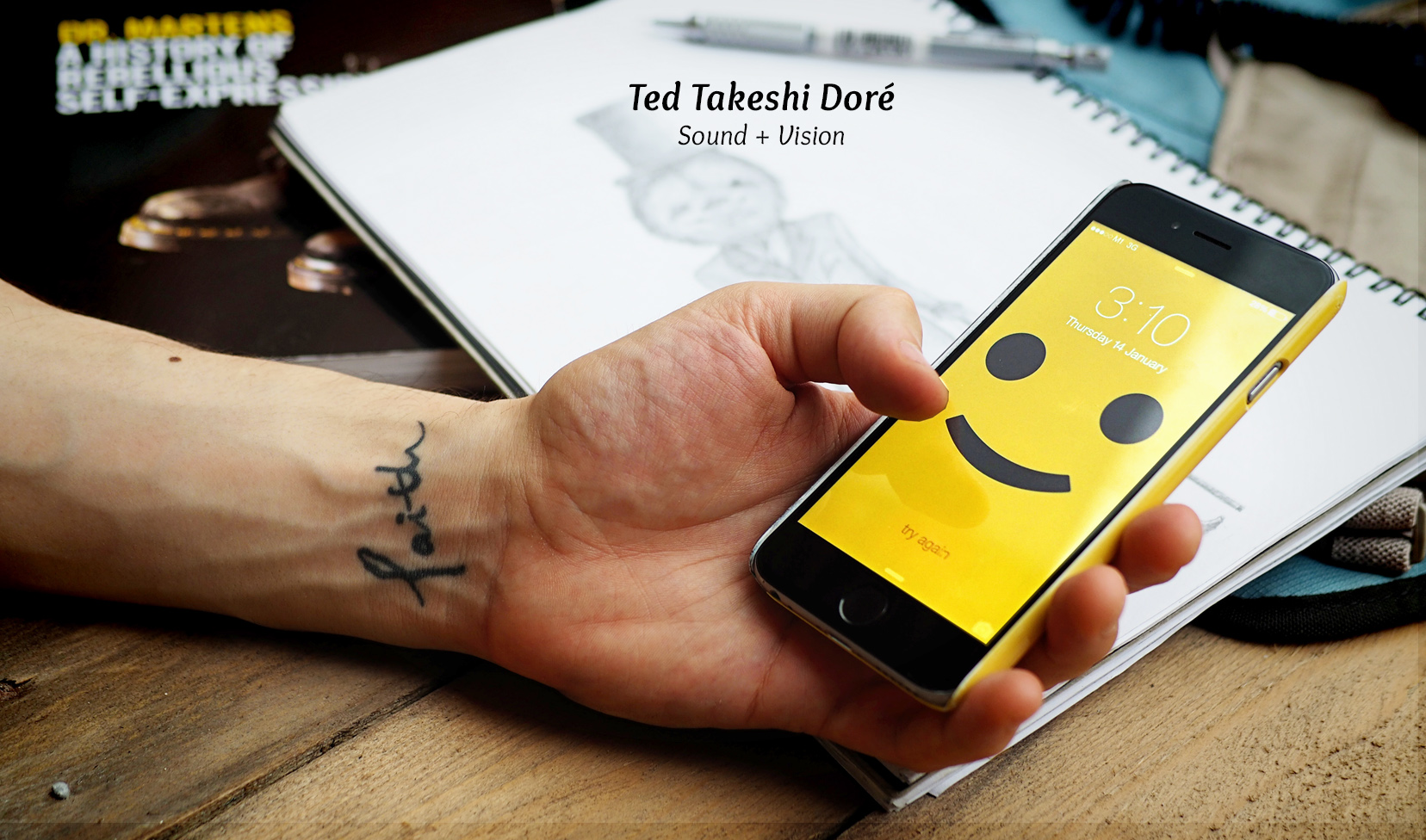 What's Your Story: Ted Takeshi Doré – Sound + Vision